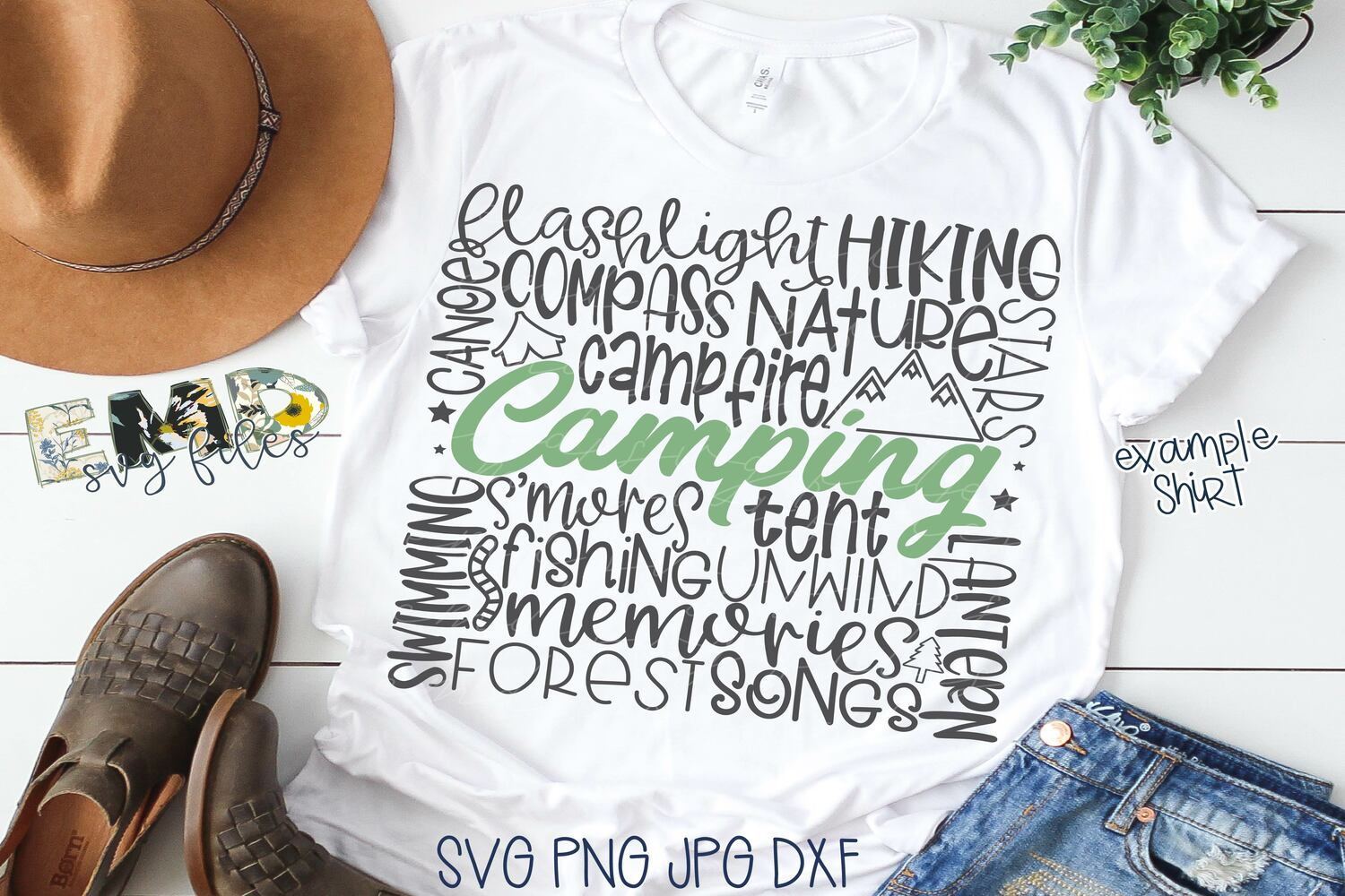 Camping Subway Art Svg | Outdoors Svg example image 1