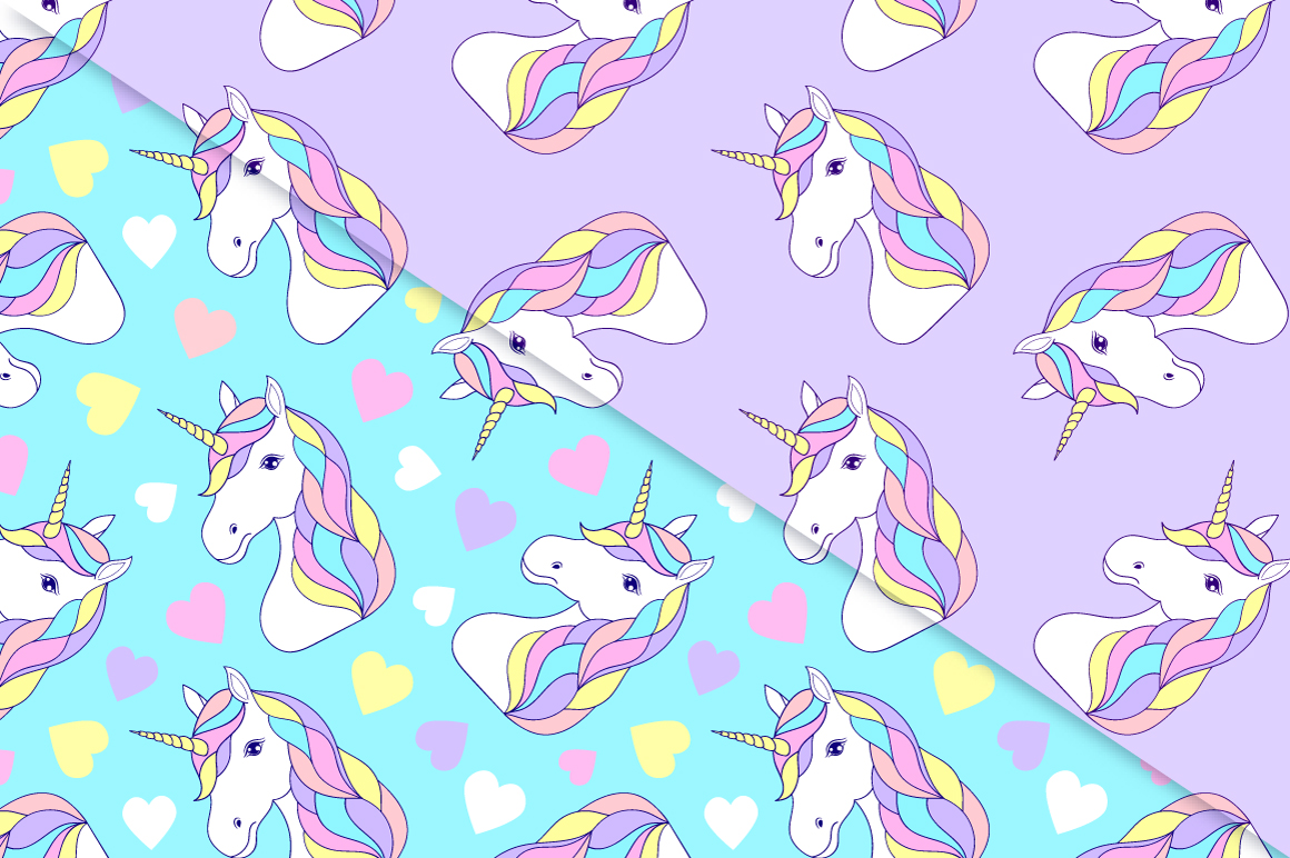 Unicorns.Surface patterns. example image 3