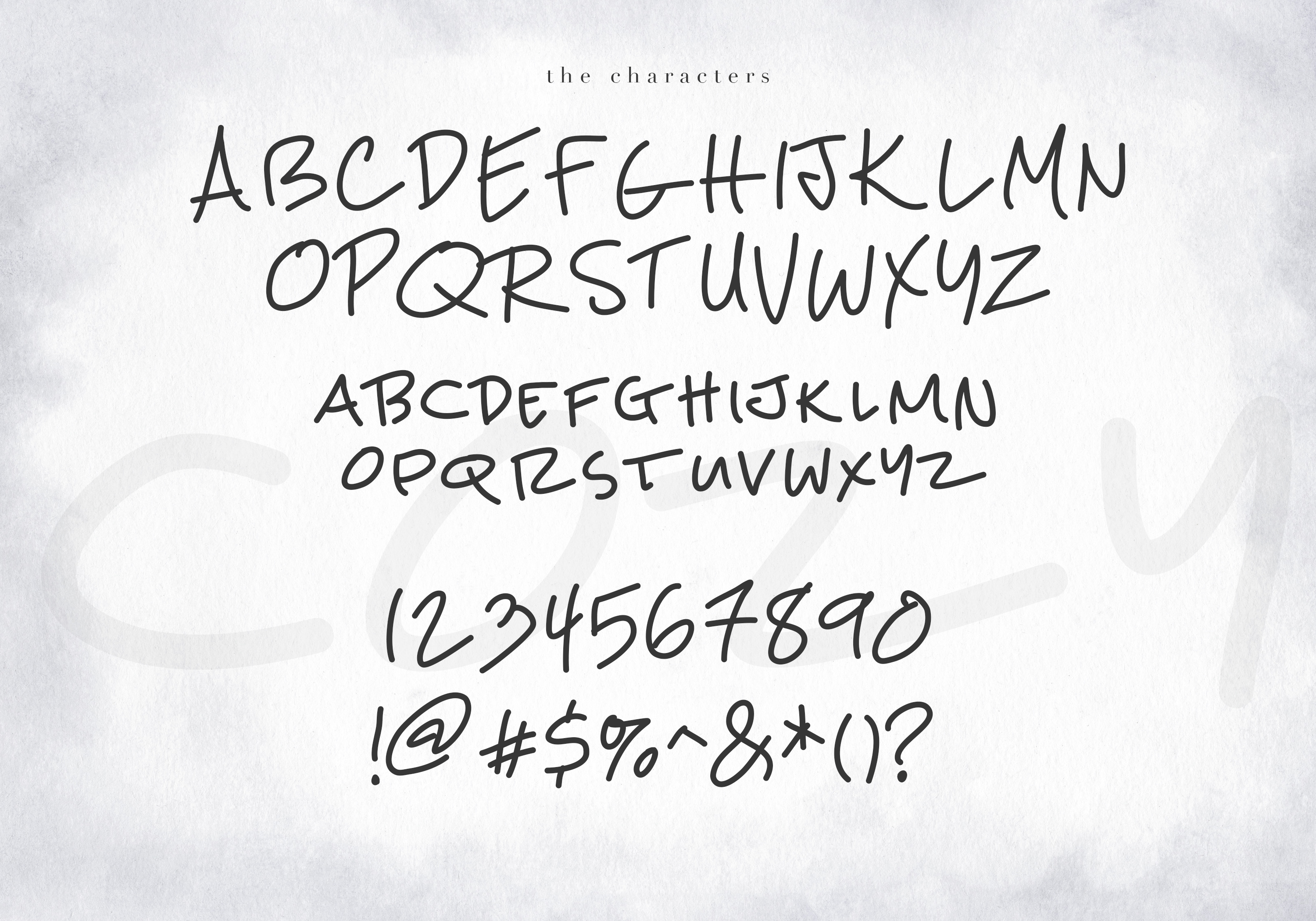 Cozy - A Handwritten Display Font example image 9