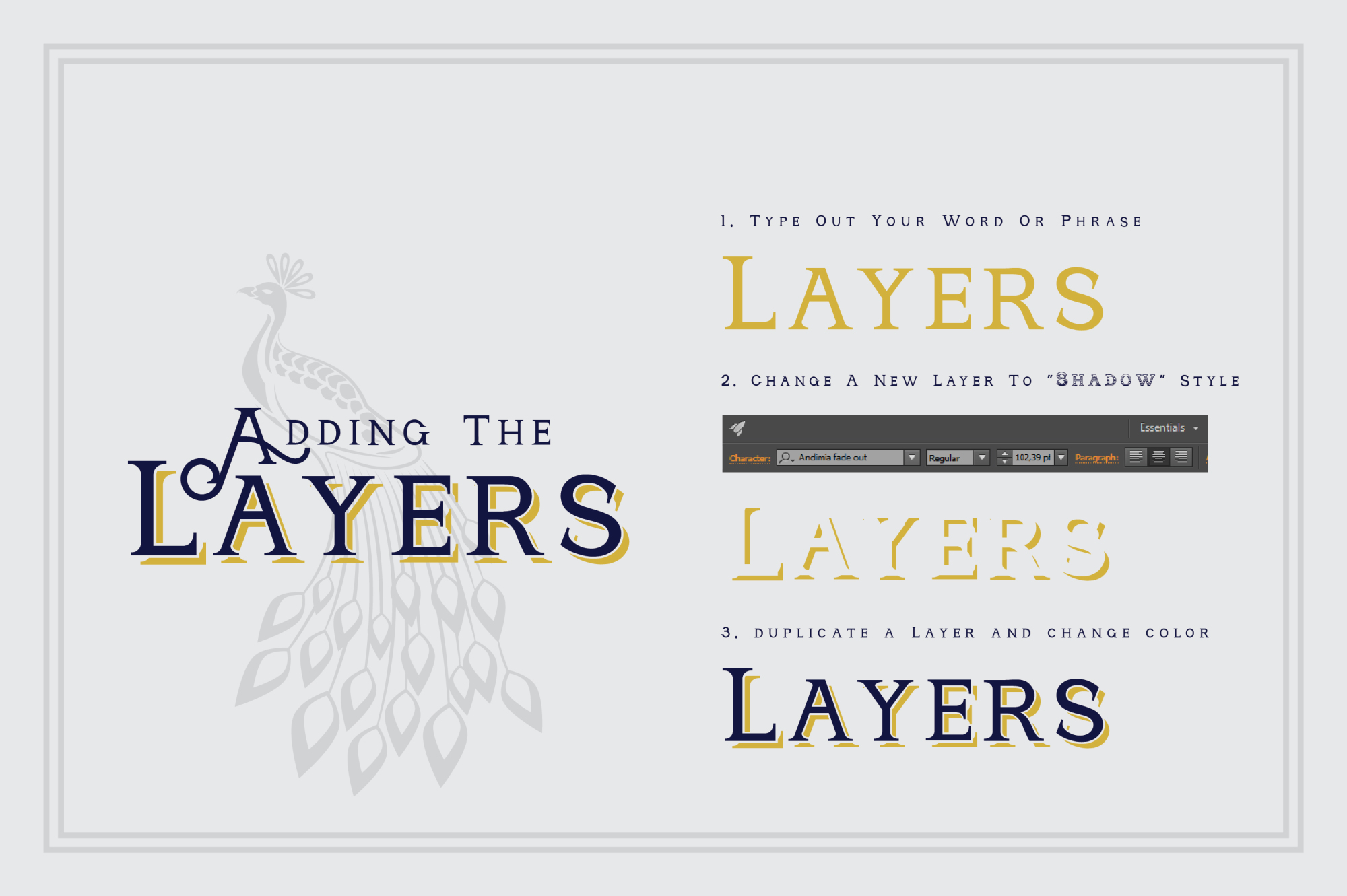 Andimia Layered Fonts Family example image 6