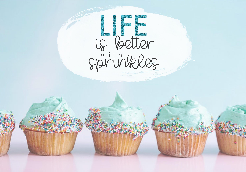 Vanilla Cupcake - A Handwritten Script Font example image 4