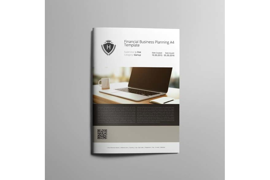 Financial Business Planning A4 Template example image 5