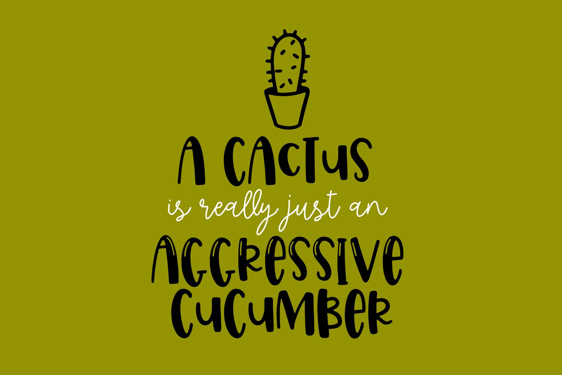 Spring Cactus example image 5