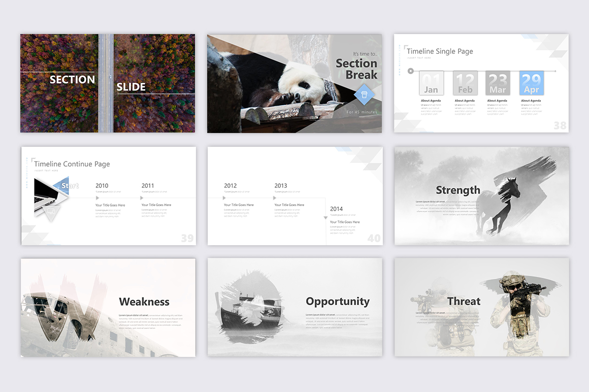 Exclusive Powerpoint Template example image 7