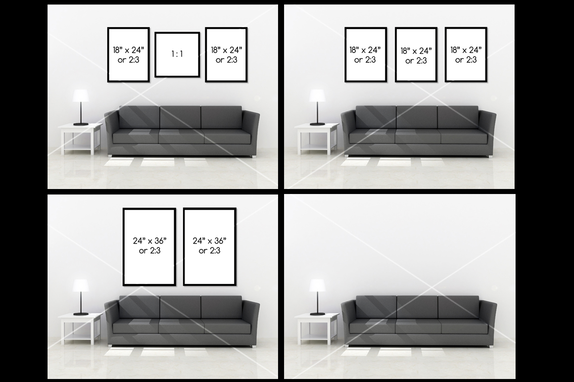 Wall art Mockup v5 example image 2