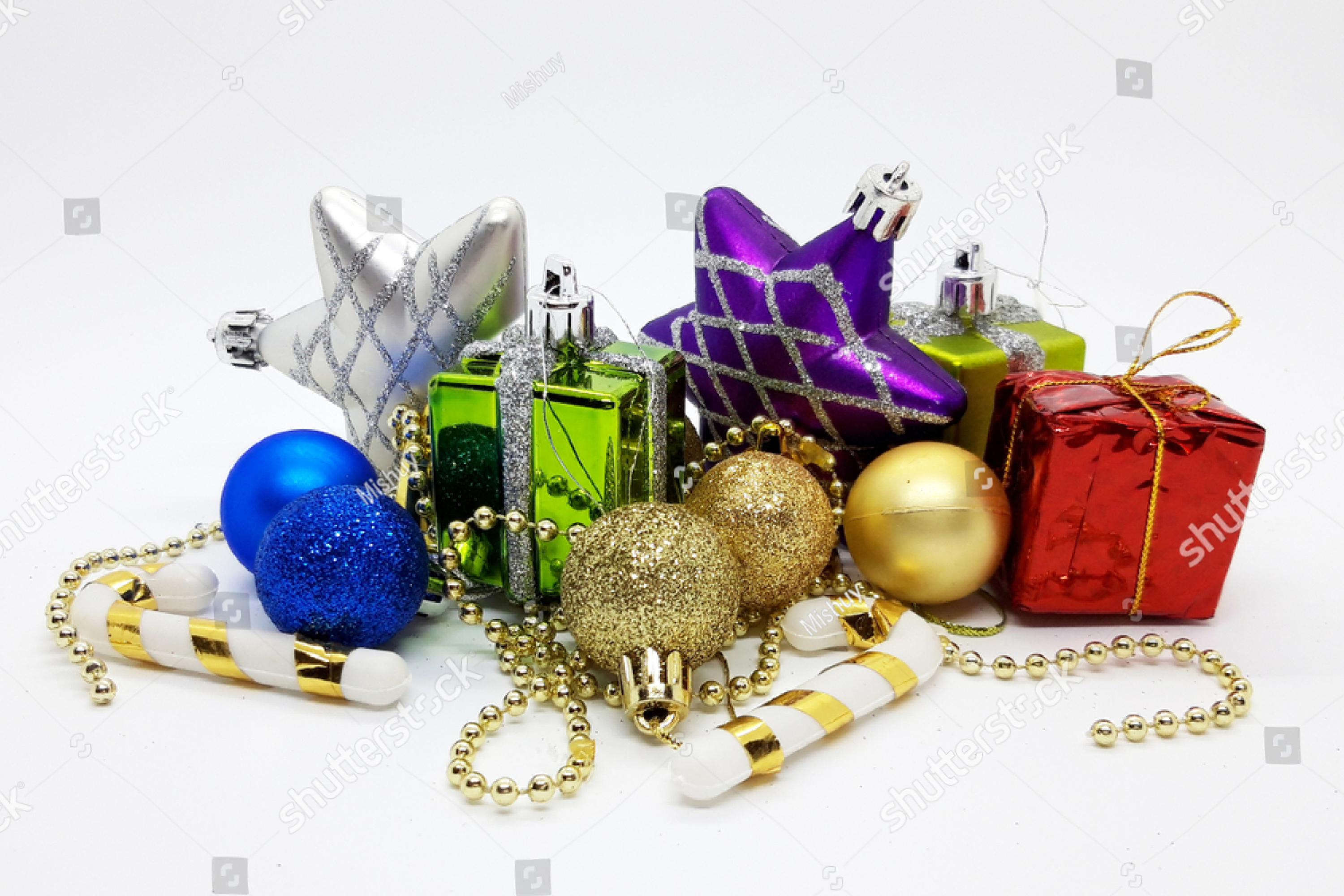 Christmas ornaments example image 1