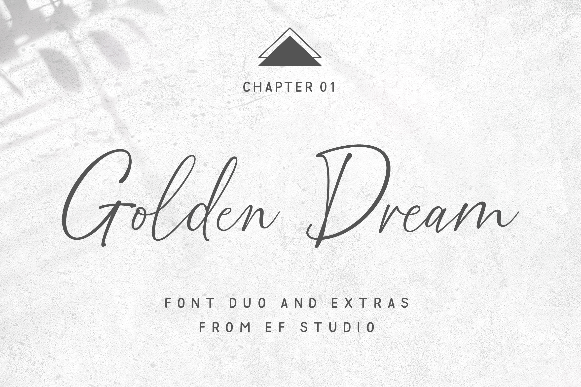 Golden Dream Font Duo & Extras example image 1