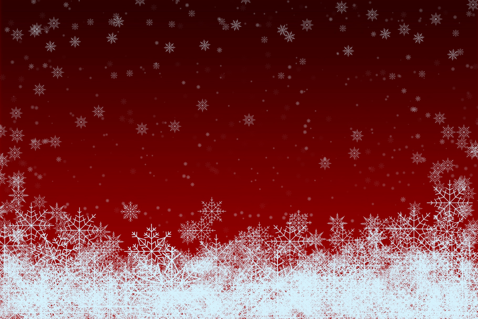 Snowflakes Brush Set - for Procreate example image 5