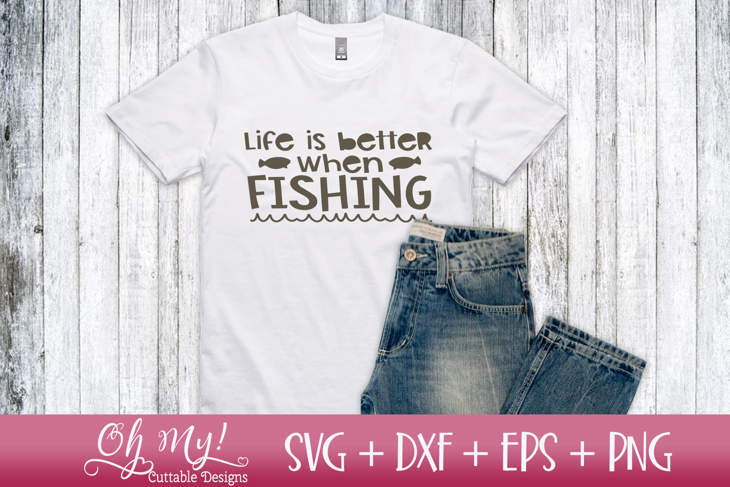 Fish Talk Bundle - 8 Files - SVG DXF EPS PNG Cutting File example image 7
