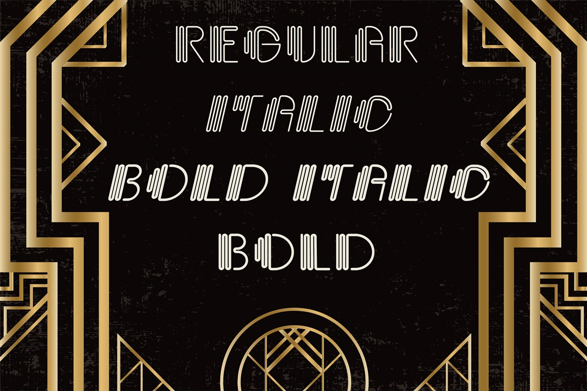 Giglio Font Family example image 2