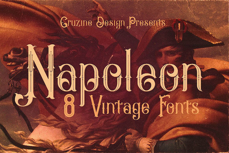 Napoleon Vintage Typeface example image 1
