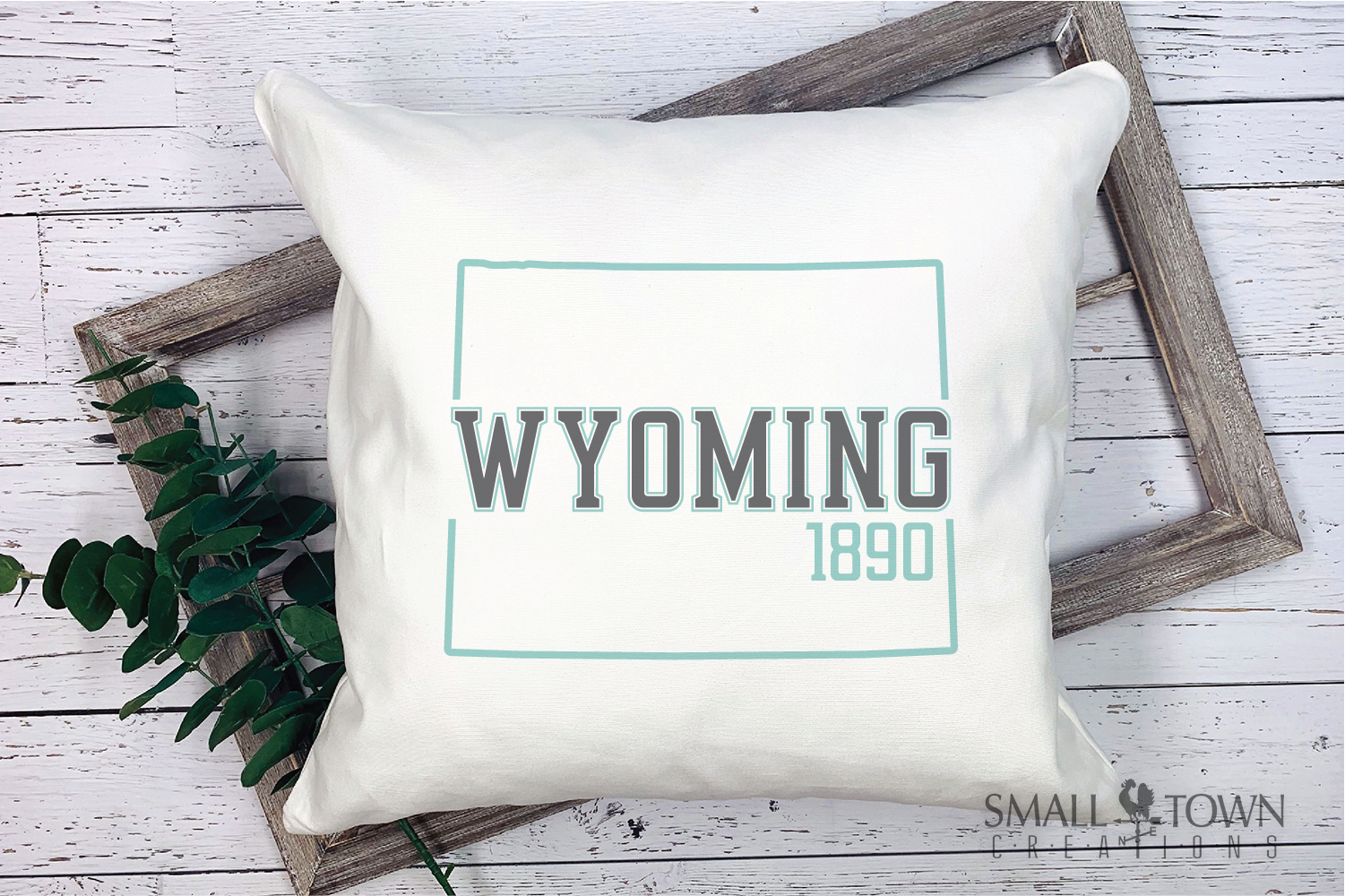 Wyoming, Forever West - slogan, Logo, PRINT, CUT & DESIGN example image 9