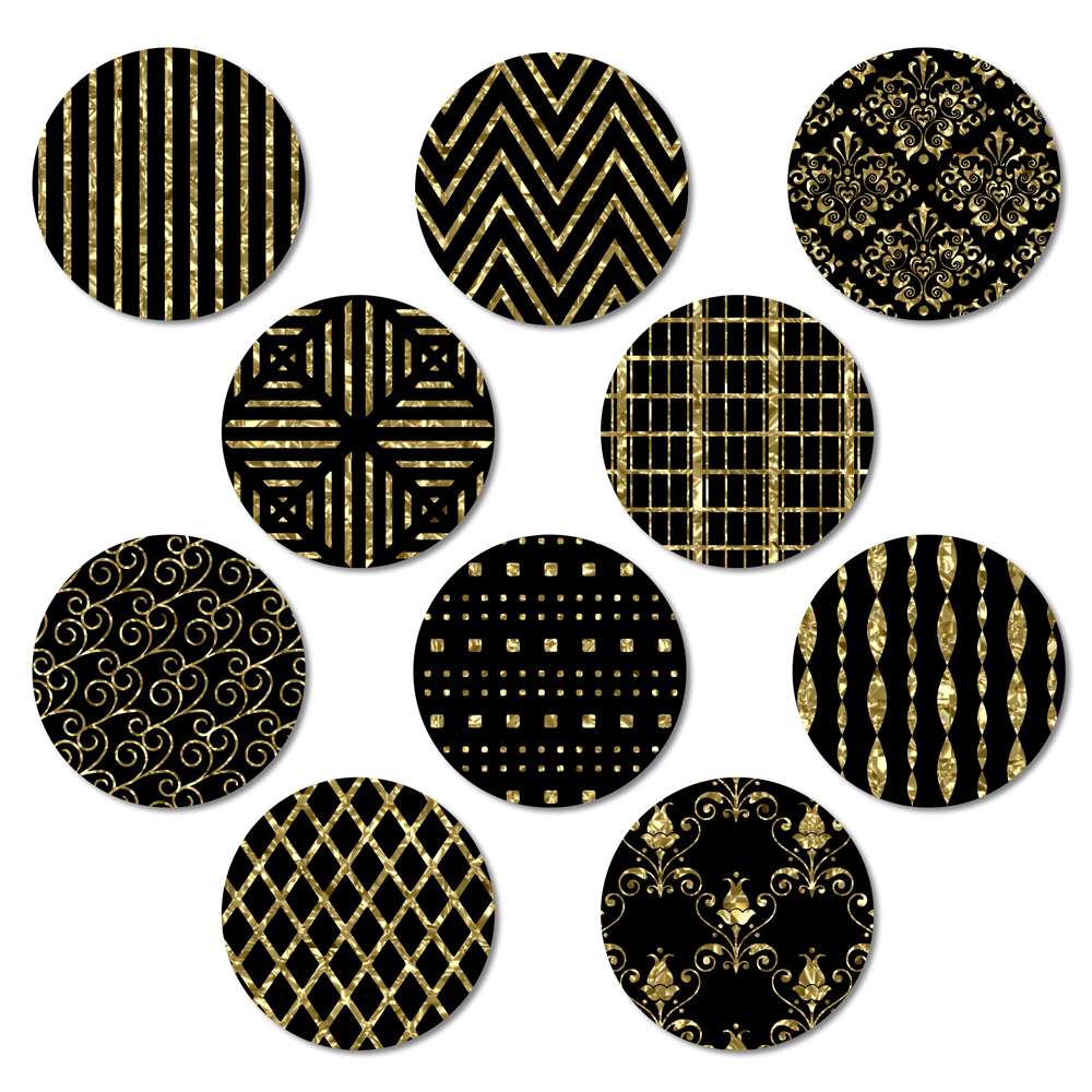 Black and Gold example image 3