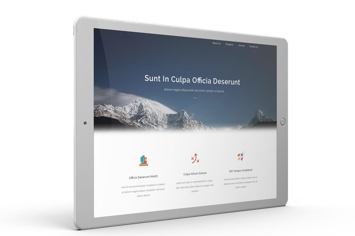 iPad Pro Mock-up vol1 example image 9
