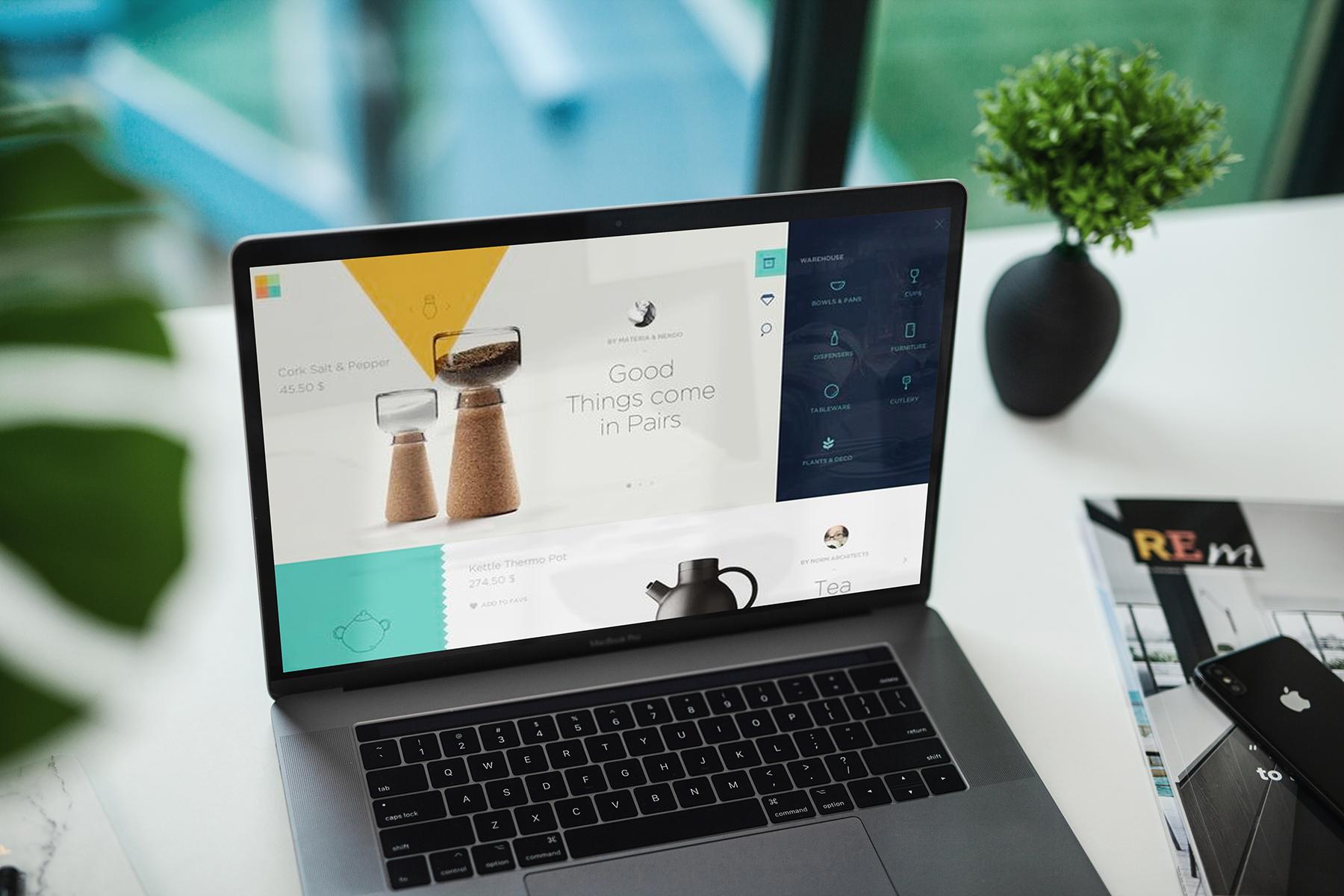 MacBook Pro Responsive Mock-Up example image 12