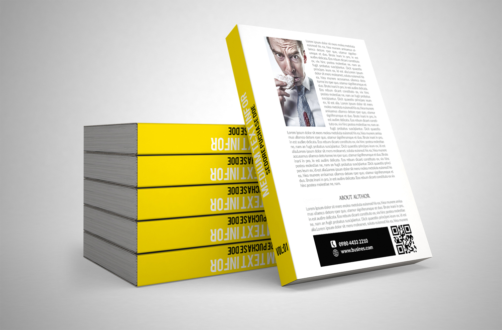 Book Cover Template example image 2