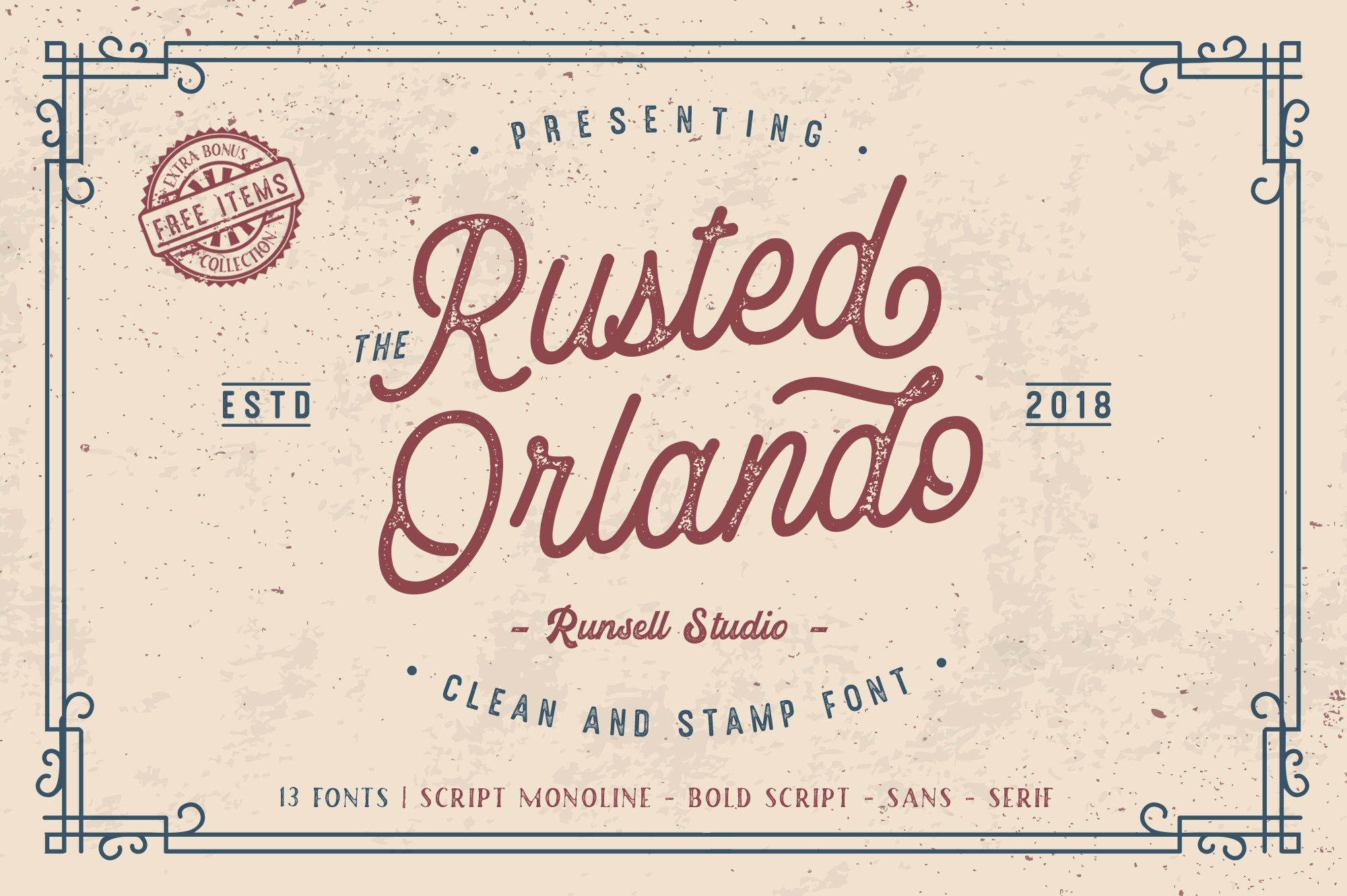 Rusted Orlando + Extras example image 1