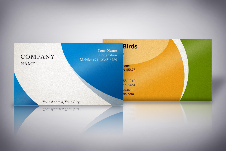 Photorealistic business card mockup set example image 2