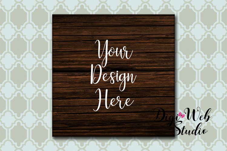Wood Signs Mockup Bundle - 9 Piece Farmhouse Wood Signs 2 example image 6