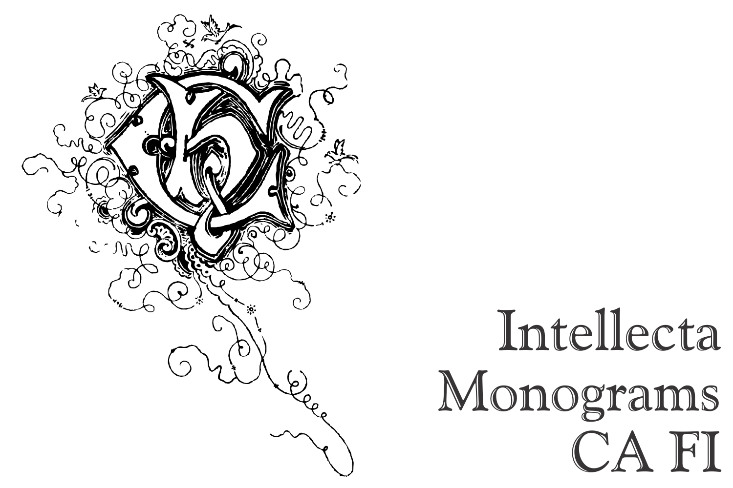 Intellecta Monograms CA FI example image 5