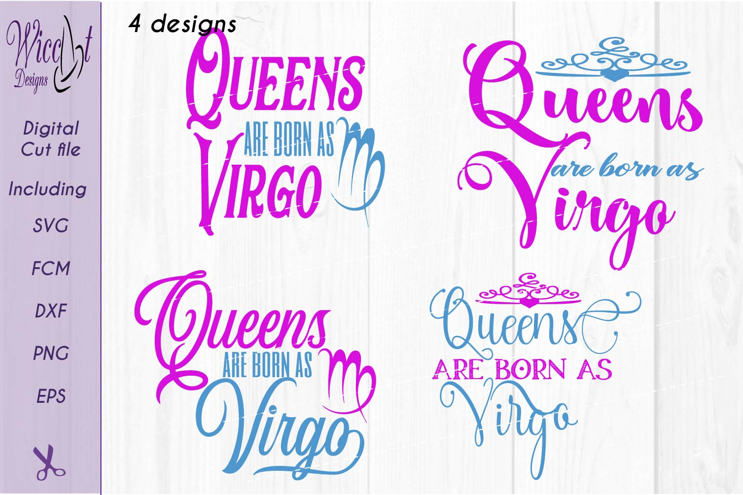 Zodiac quote svg, Queens quote svg, born as Virgo sign example image 4