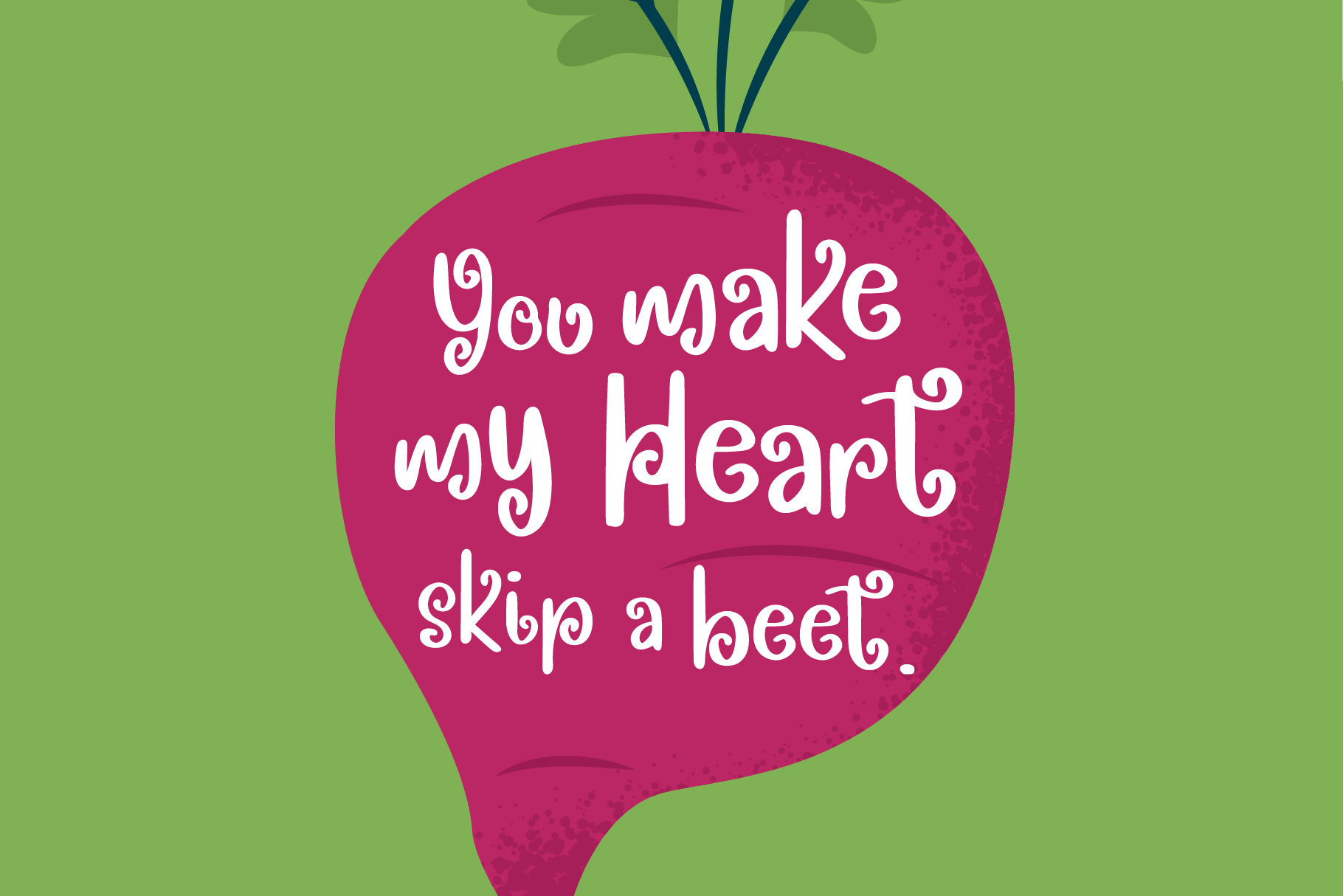 Spring Beets Font example image 2