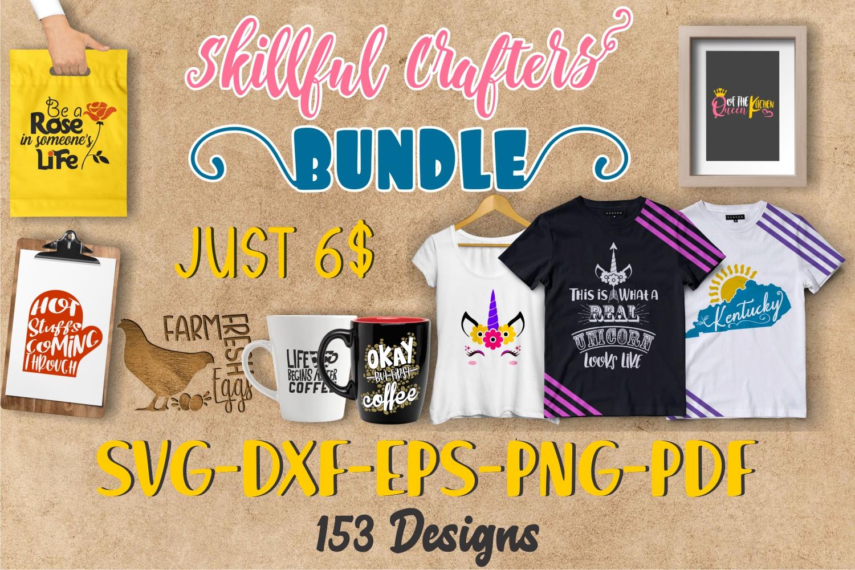 SVG bundle, SKILLFUL Crafters Bundle example image 27