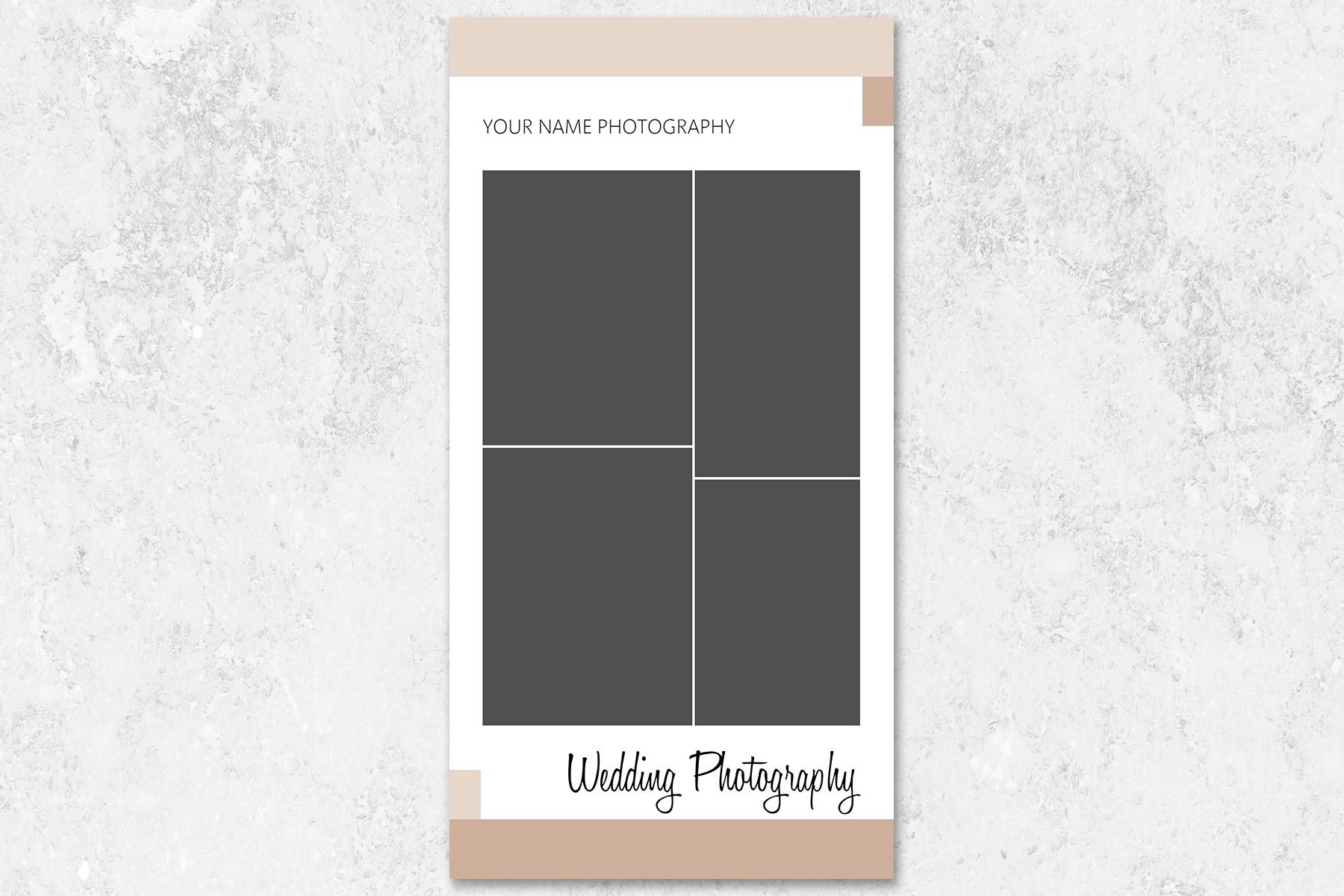 Wedding Photography Rack Card Template example image 3
