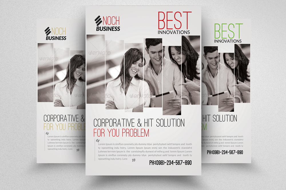 6 Multi Use Business Flyers Bundle example image 6