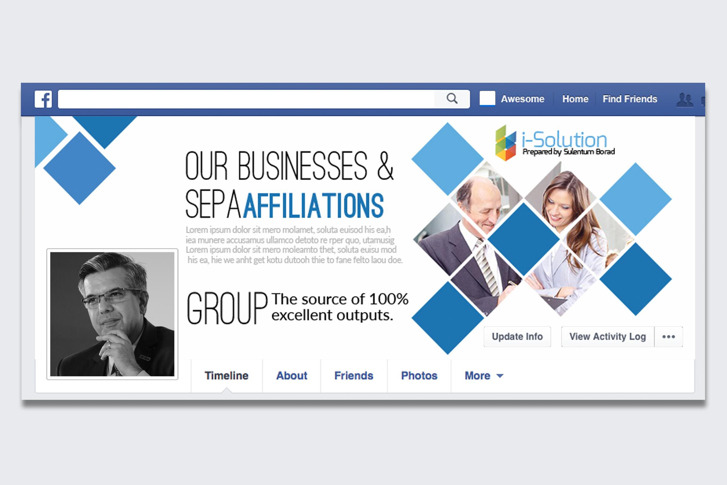 Business Facebook Timelines 08 example image 1