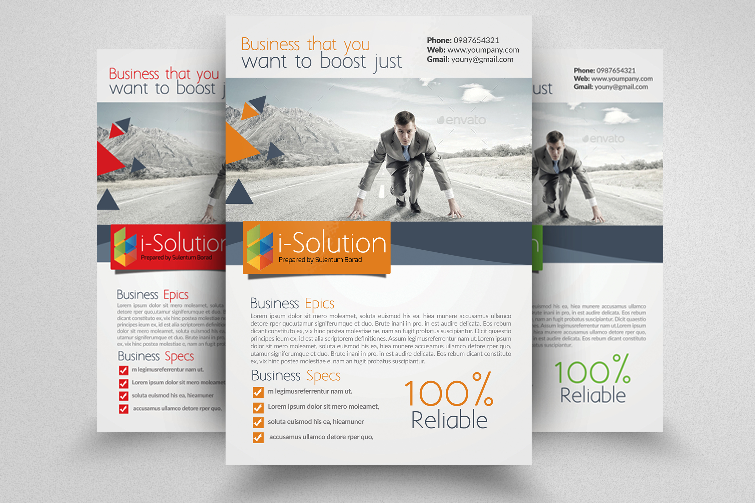 7 Corporate Business Flyers Bundle example image 7