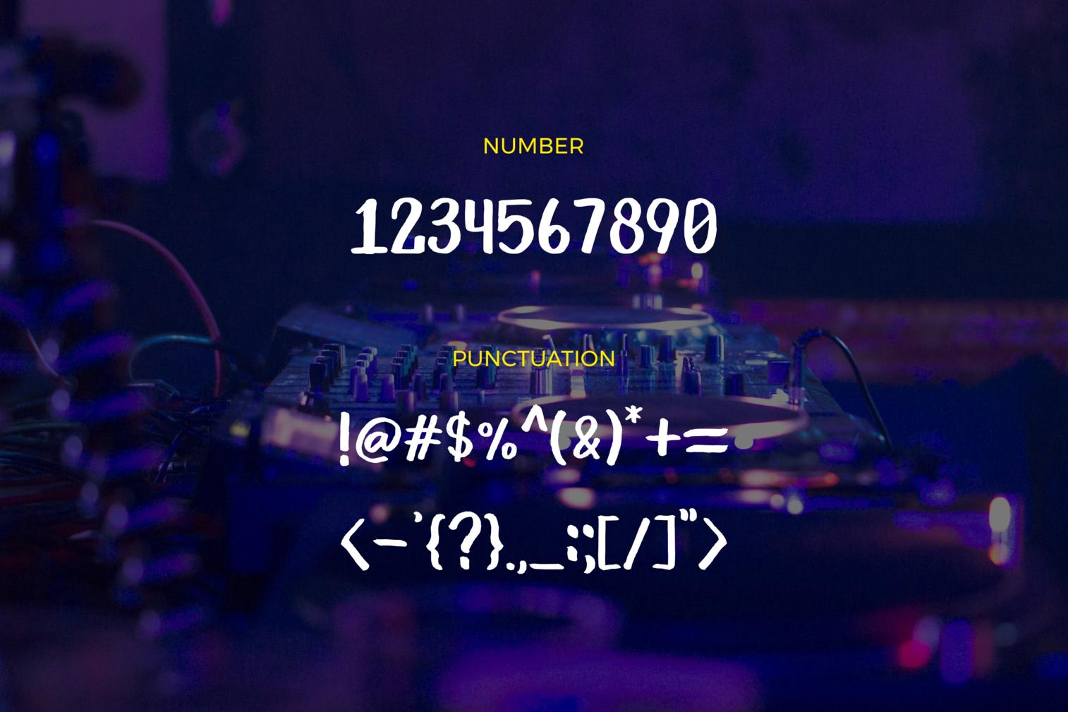 Primera Marker Typeface example image 5