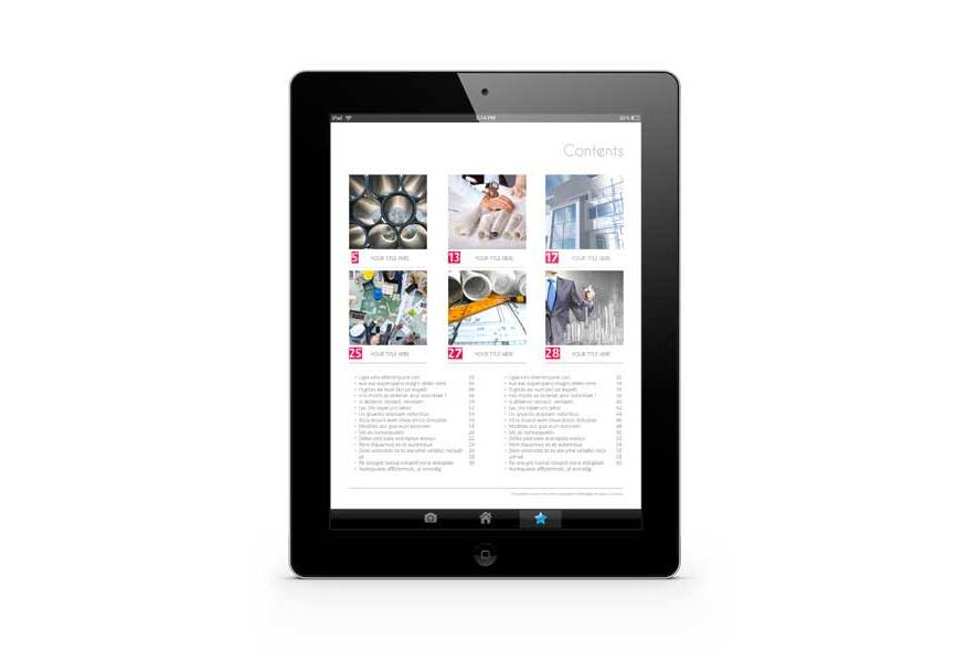 Business eMagazine Template example image 3