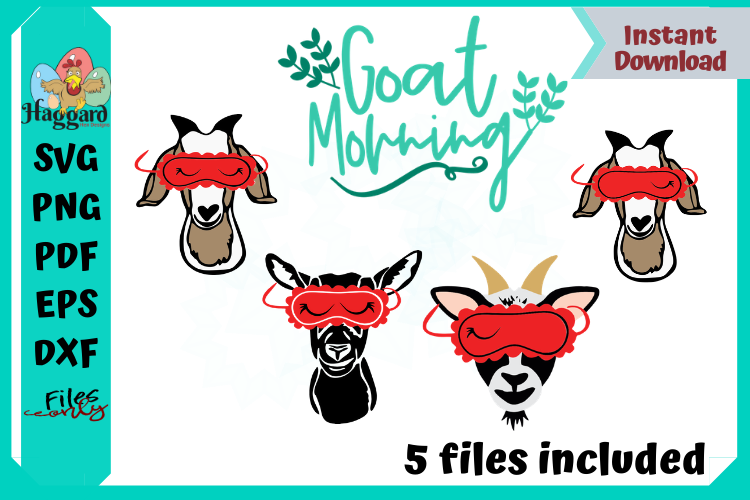 Goat Sleeping Mask Bundle example image 1