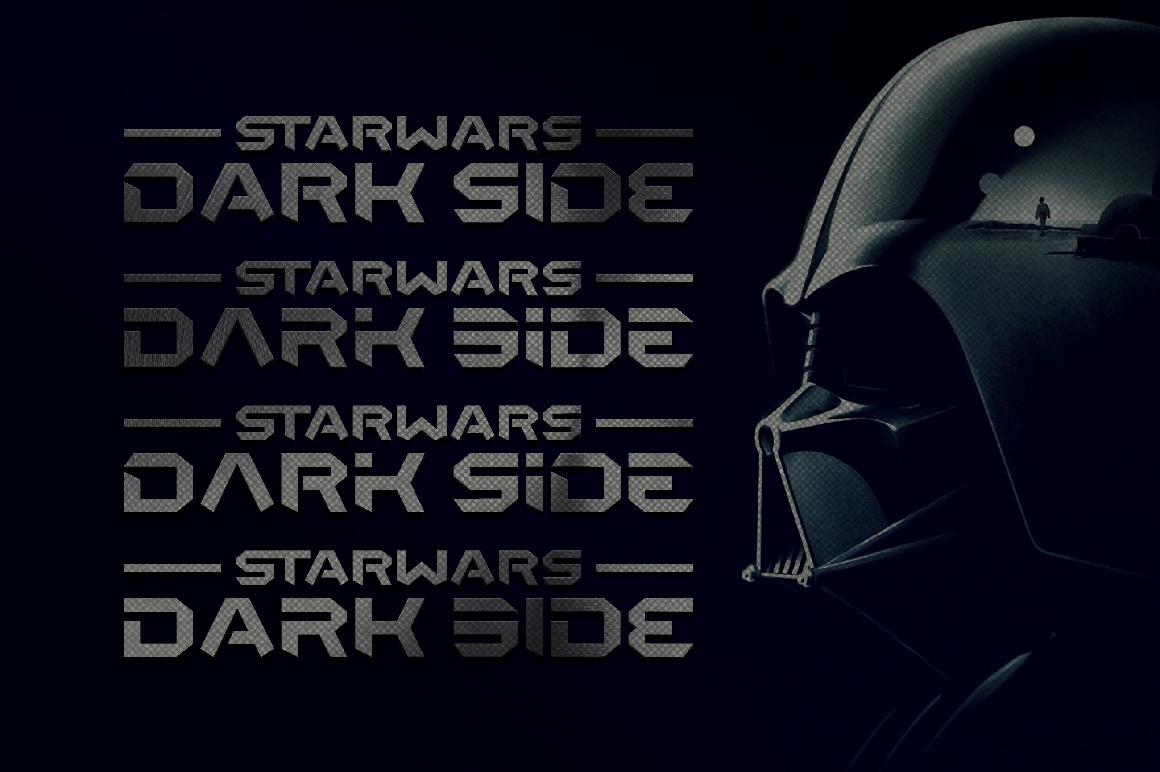 THE STARWILD - Futuristic Modern Font example image 3