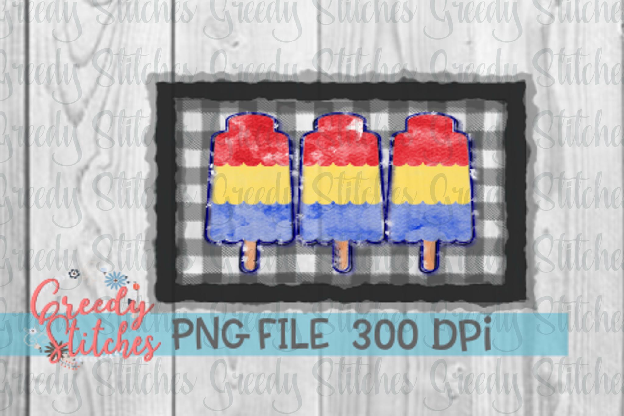 Popsicle Sublimation PNG Bundle example image 4