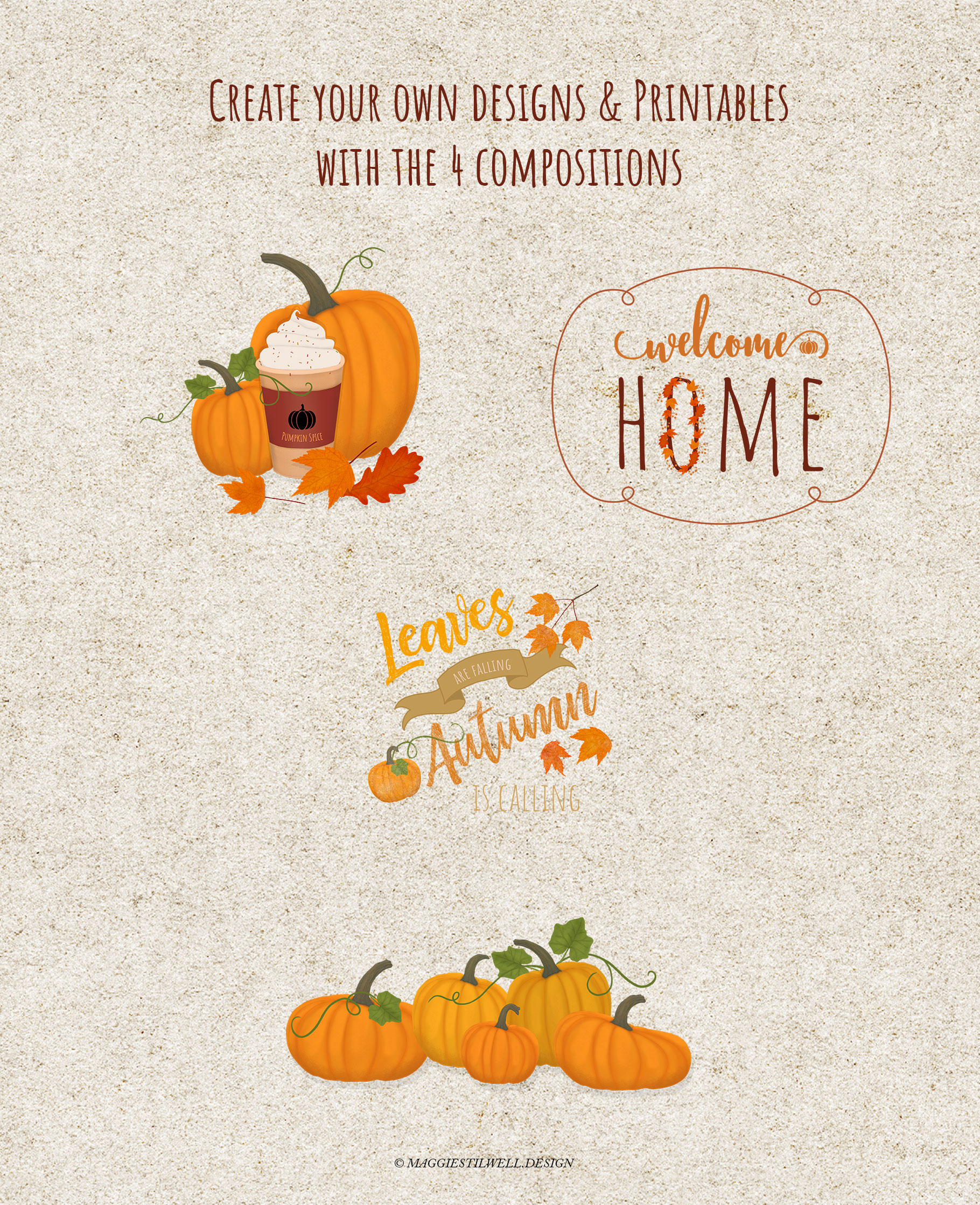 Autumn Printables & Illustrations example image 9