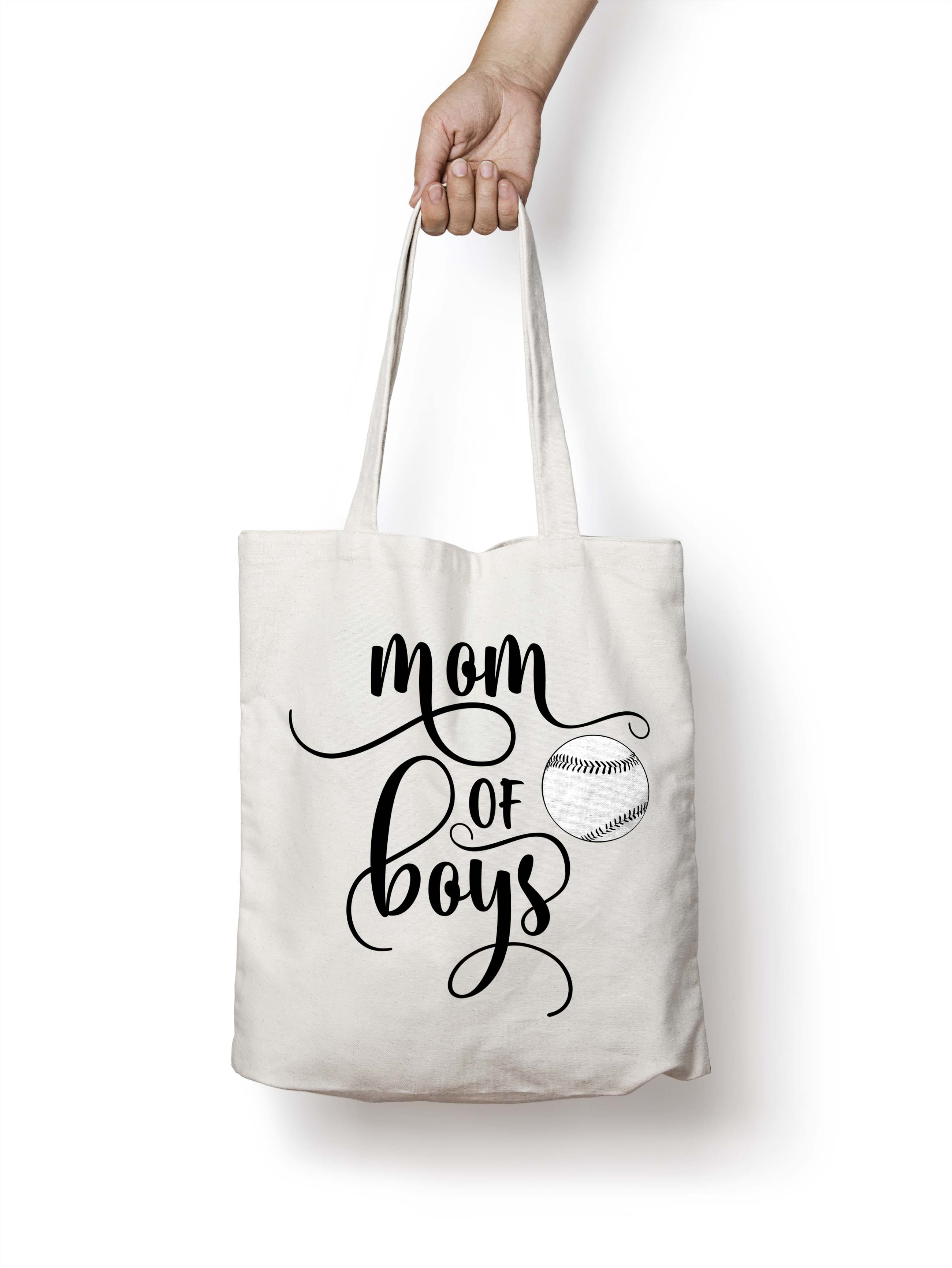 Mom of boys SVG PNG EPS DXF example image 4