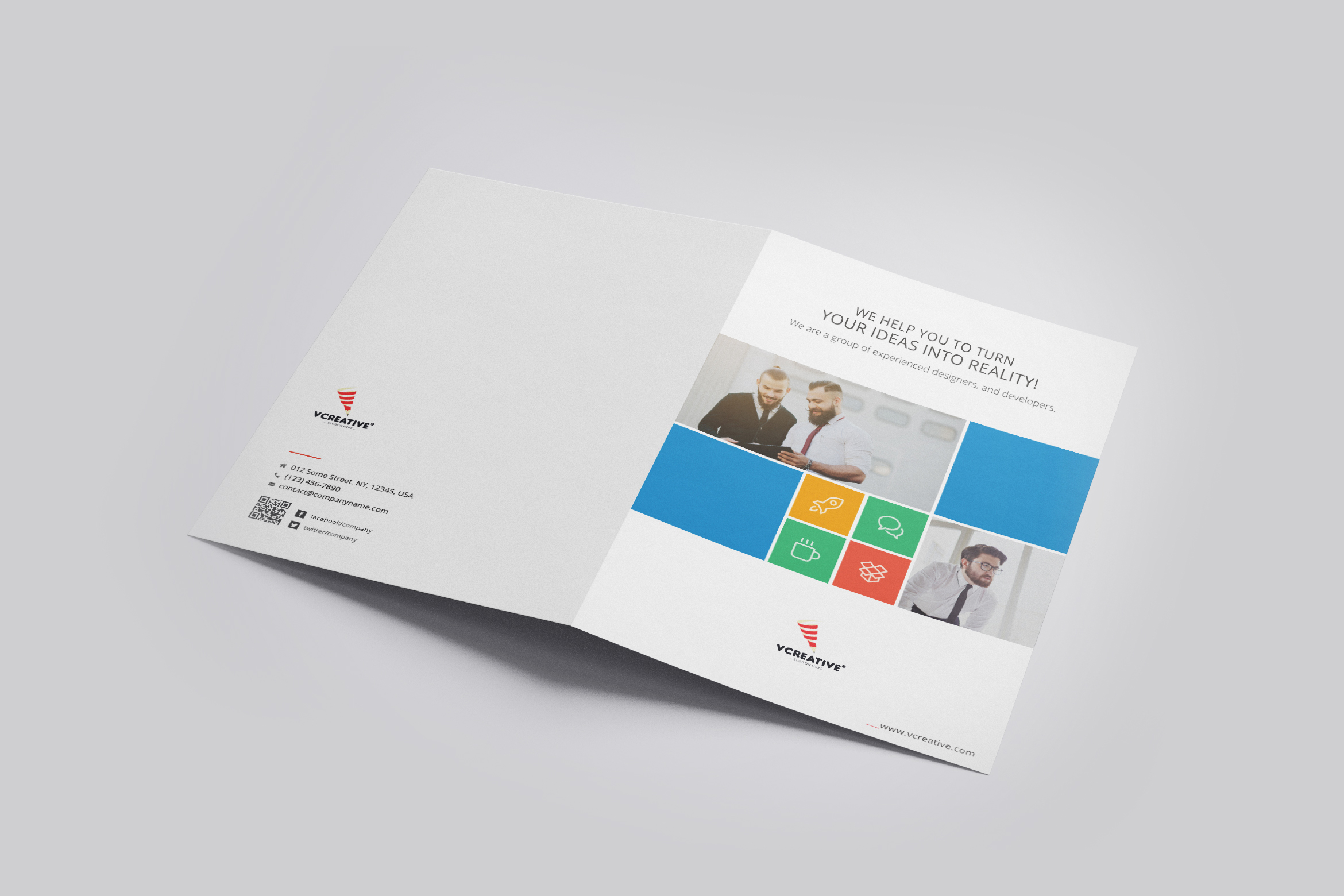 Presentation Folder Template - 01 example image 3