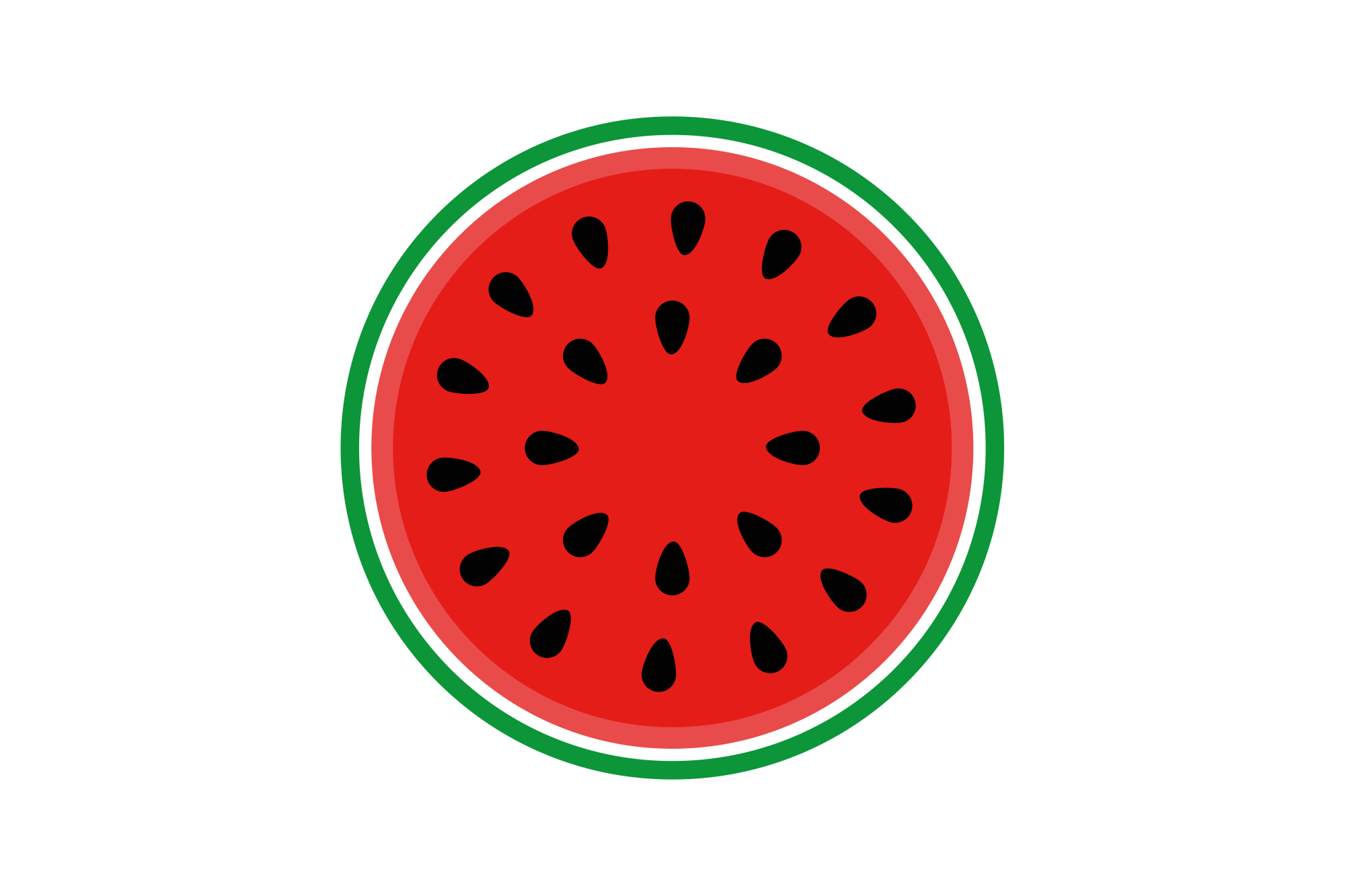 Collection of vector fruit icons example image 9
