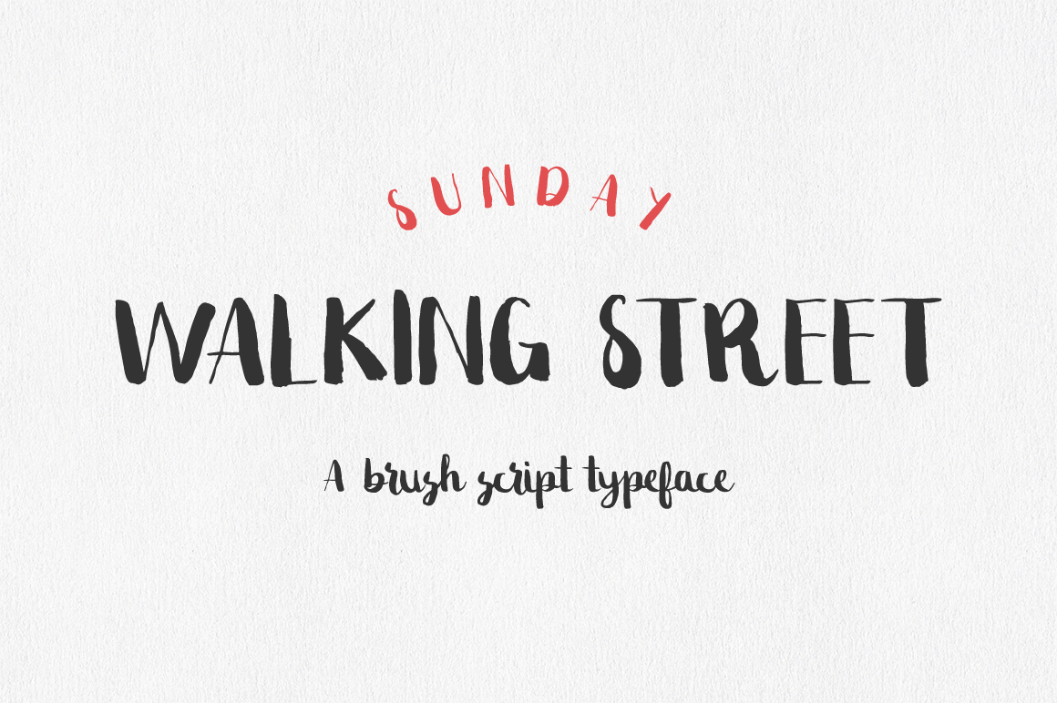 Sunday Walking Street Script example image 1