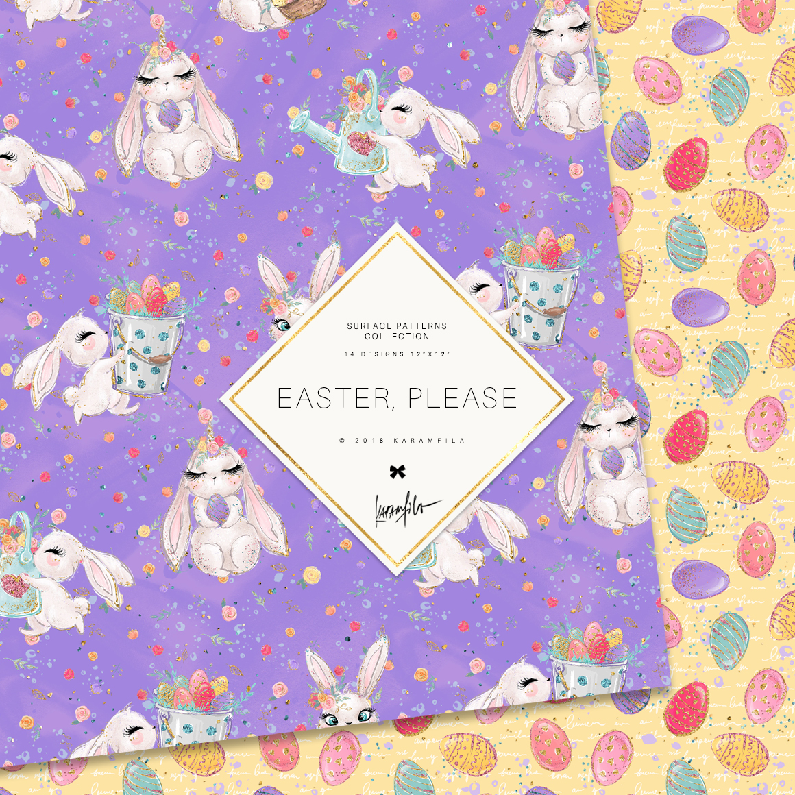 Easter Patterns example image 8