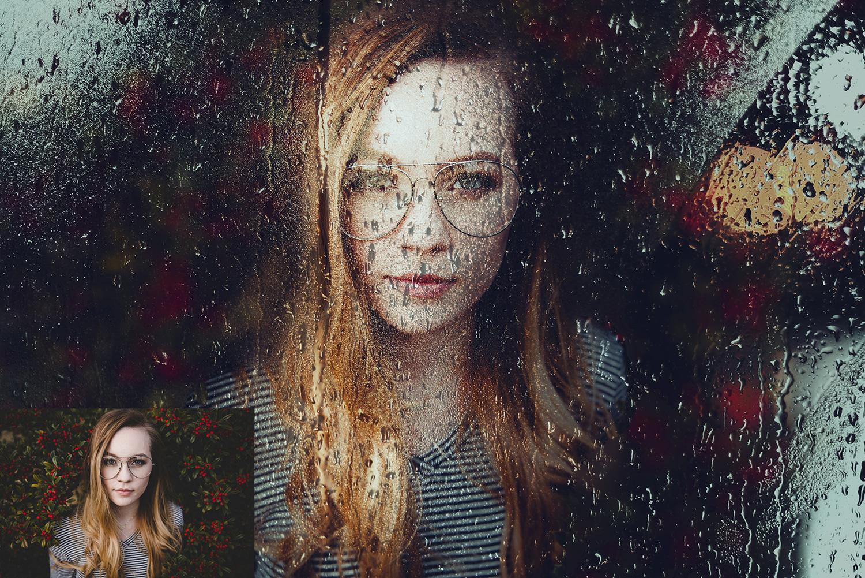 Rainy Day Photoshop Actions example image 2