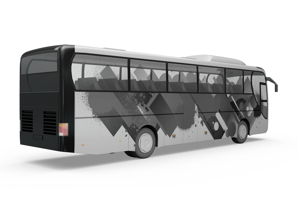 Bus Mockup example image 6