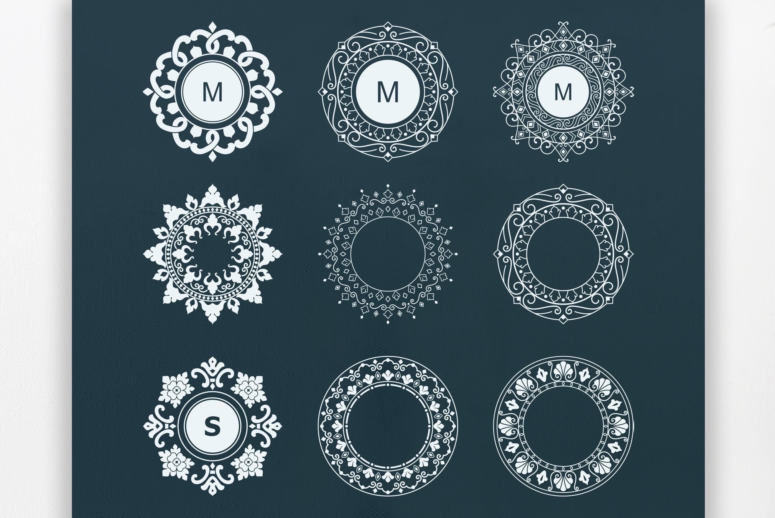 Mandala Ornaments example image 8