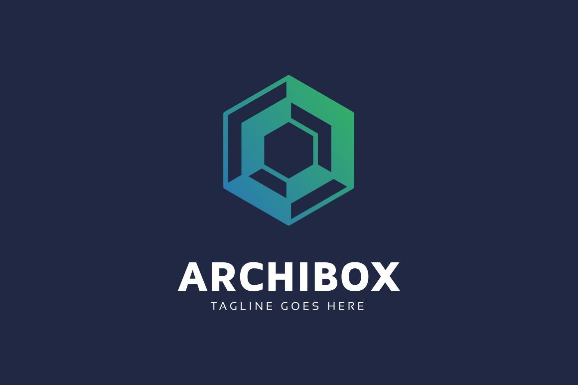 Hexagon Box Logo example image 2