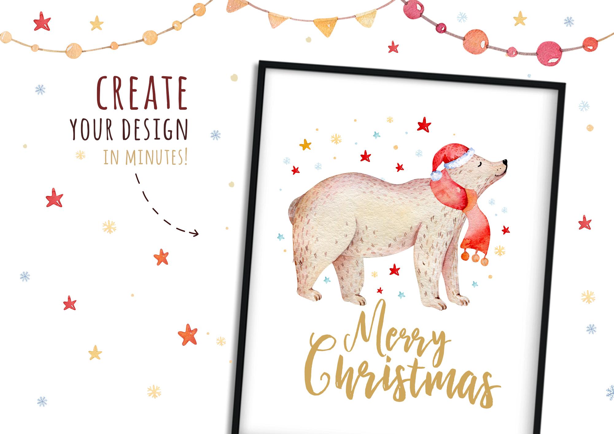 Christmas bear collection example image 4