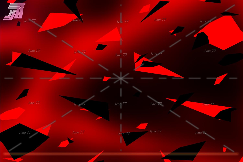 Retrowave NEON Flakes Scene Generator example image 7
