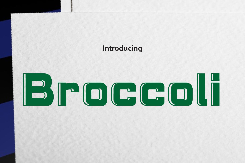 Brocolli example image 1
