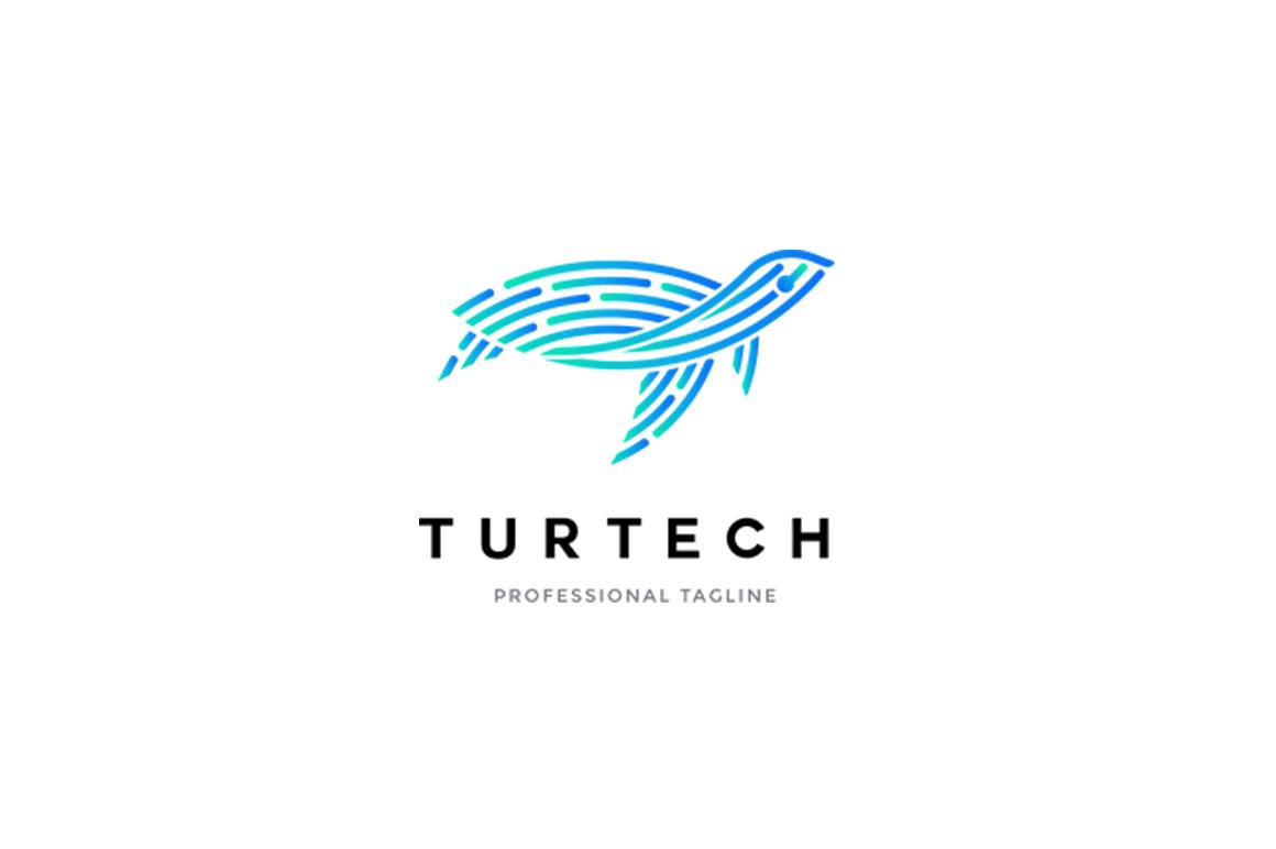 Animal Logo - Turtle Logo example image 1